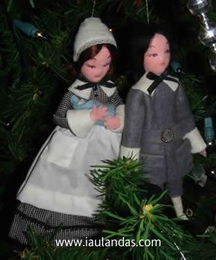 John & Patricia Alden (Pilgrims)