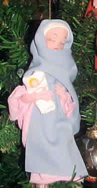 Mary & Baby Jesus (version 2)