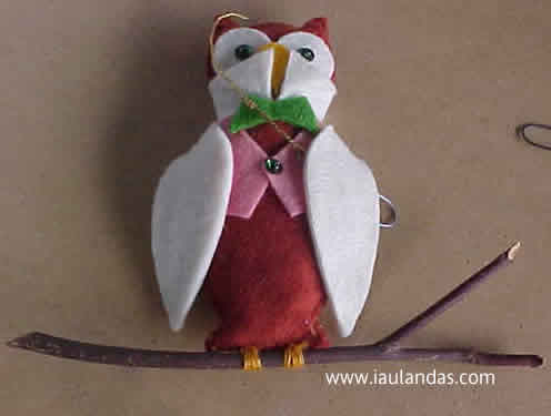 Owl (Ornament of the Month)